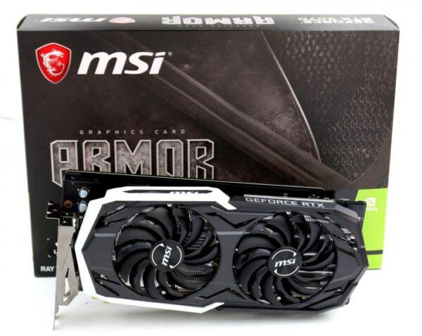 MSI - 8GB GeForce RTX 2070 Armor DDR6 256bit
