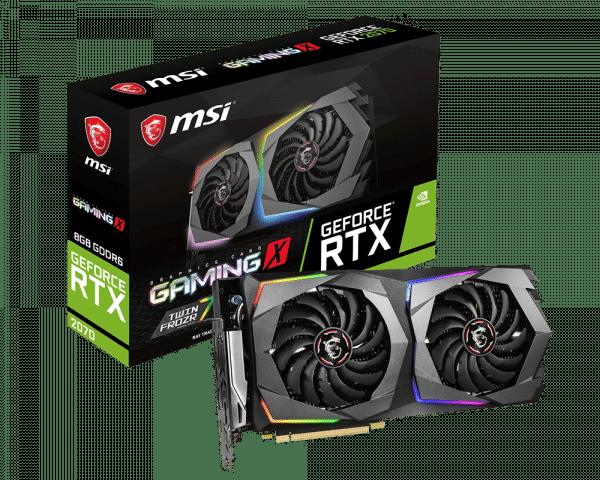 MSI - 8GB GeForce RTX 2070 GamingX DDR6 256bit