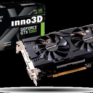 Inno 3D - 3GB GeForce GTX1060 TwinX 192Bits GDDR5