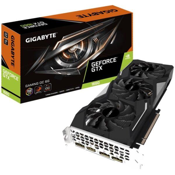 GigaByte - 6GB GTX1660 Gaming OC GDDR5 GV-N1660GAMING OC-6GD 192bit