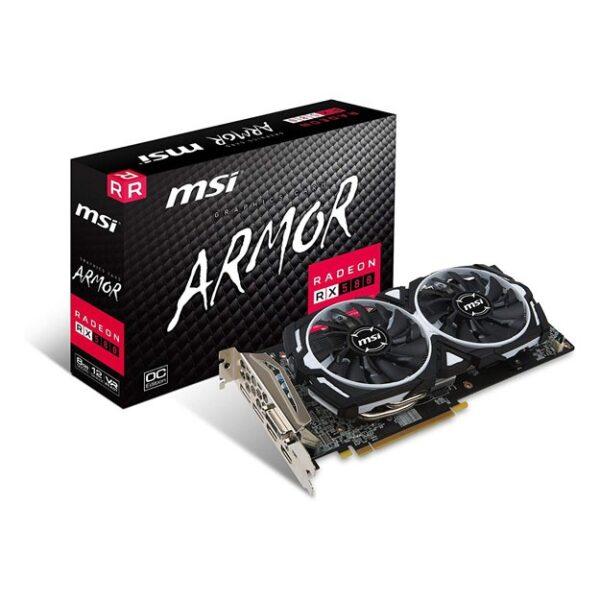 MSI - 8GB Radeon RX580 Armor OC DDR5 256bit