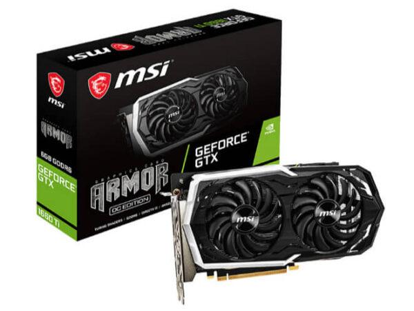 MSI - 6GB GeForce GTX 1660Ti Armor DDR6 192bit