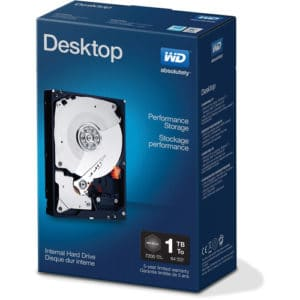 HDD 1TB WD 7200 Pullout