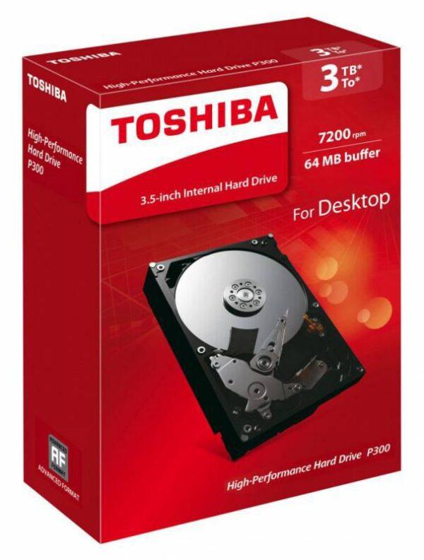 HDD 3TB Toshiba P300 HDWD130EZSTA 7200 Original BOX
