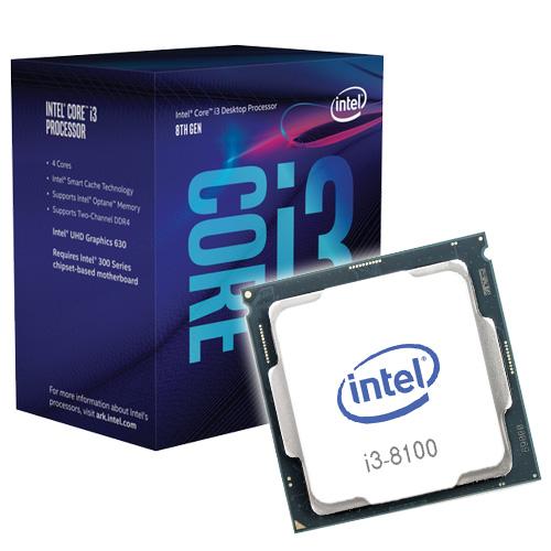 Intel-Core i3 - 8100