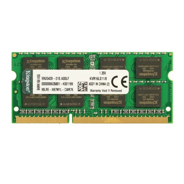 Kingston DDR3 4GB SODIMM 1600Mhz