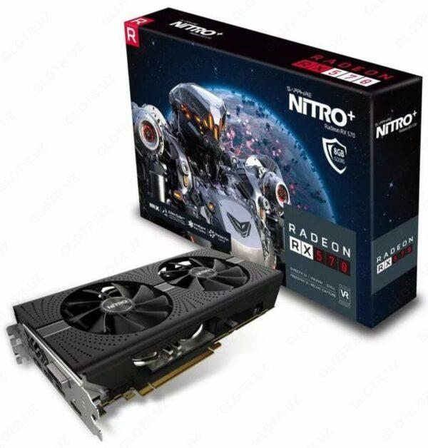 Sapphire - 4GB Radeon RX 570 256bit DDR5 Nitro+