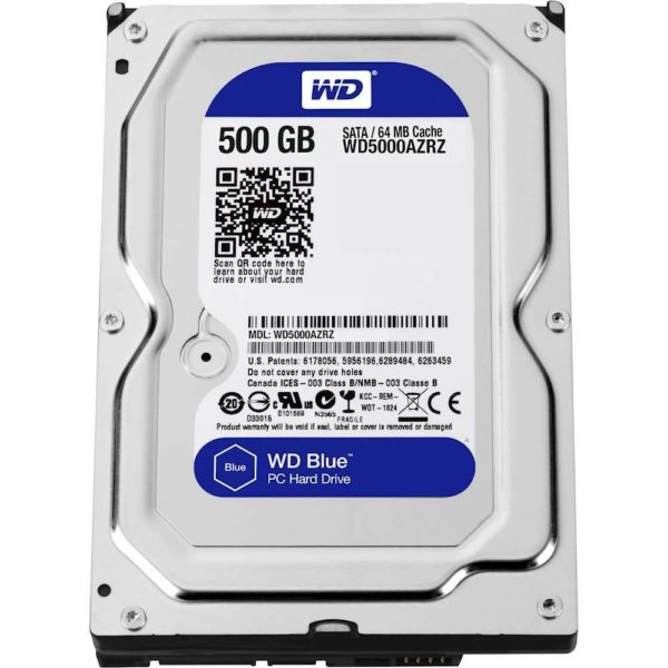 HDD 500GB WD, Seagate 7200 Pullout