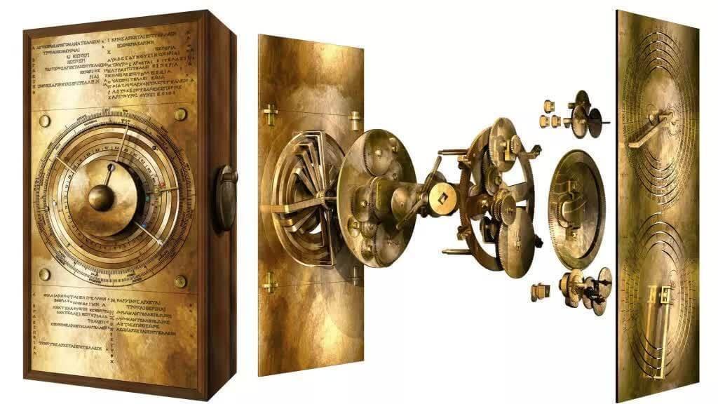 Восстановленный антикиферский механизм в разобранном виде. Фото: UCL