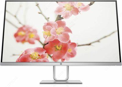 """HP - 27"""" 27q LED Monitor, TN Matrix, 75Hz, HDMI, WQHD (2560x1440) 2K (3FV90AA) Silver"""