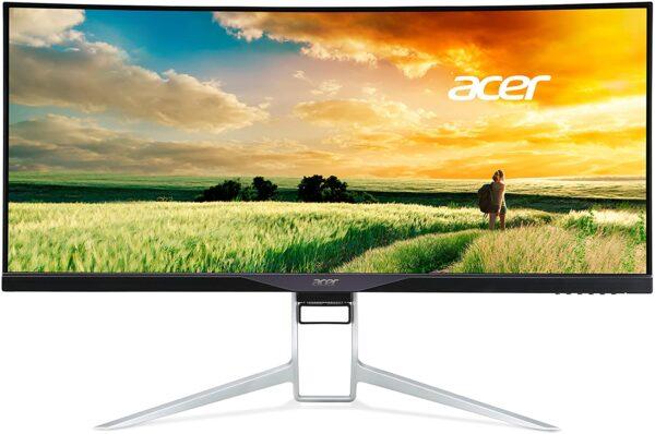 "Acer - 34"" XR342 Curved Monitor, IPS, 100Hz, 1mc, UW-QHD (3440x1440 ) 4K, HDMI+DP+TypeC, (UM.CX2EE.P01) Black"
